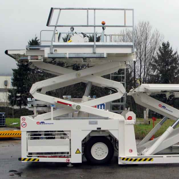7000 kg capacity (15400 Lbs.) Cargo Loader. Thumbnail. GSE Equipment.